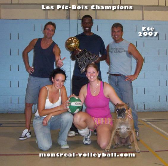 Saison automne 2015 - Association Volley Montréal
